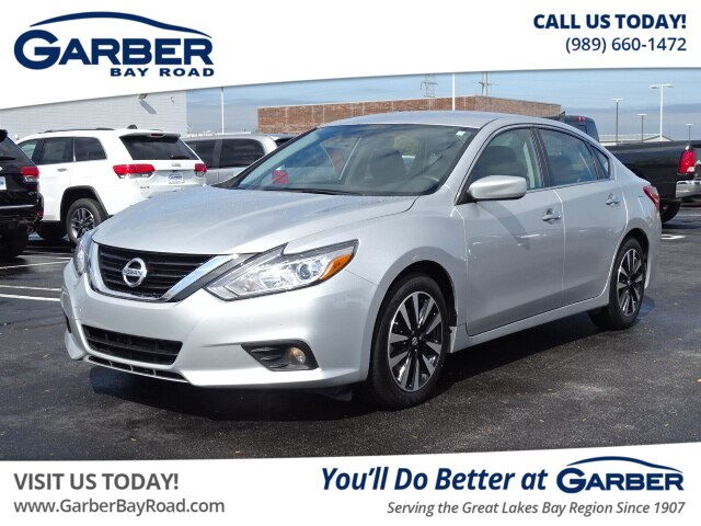 Nissan Altima 2.5 S >> Pre Owned 2018 Nissan Altima 2 5 Sv Fwd Sedan
